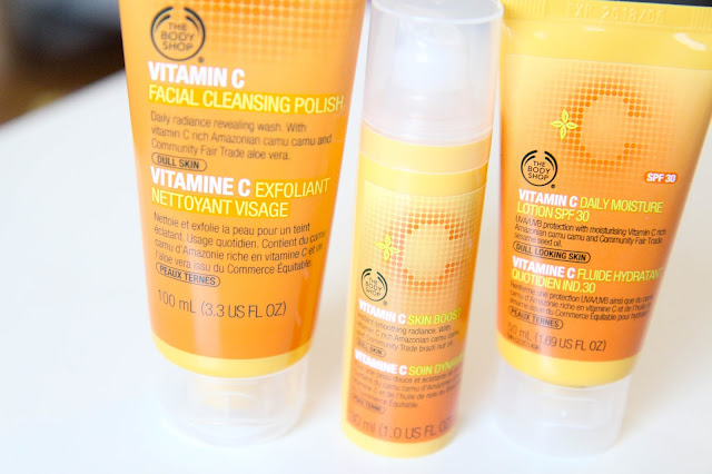 The Body Shop's Vitamin C Lineup