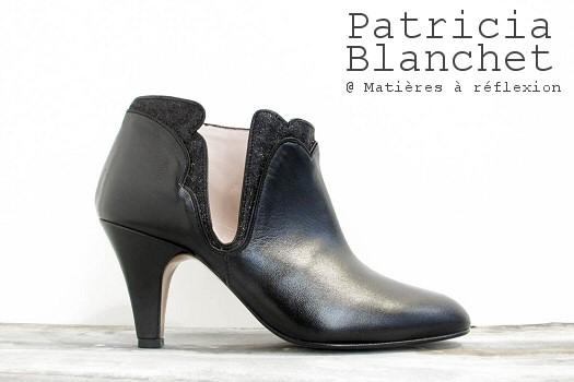 Patricia Blanchet boots Kronenberg noir