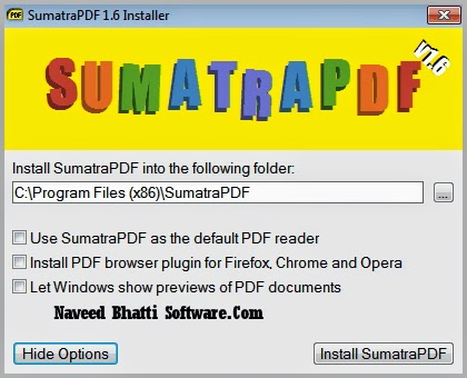 sumatra pdf converter free download