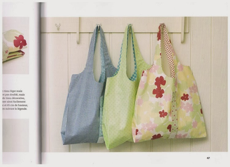 How to sew a collapsible shopping bag?