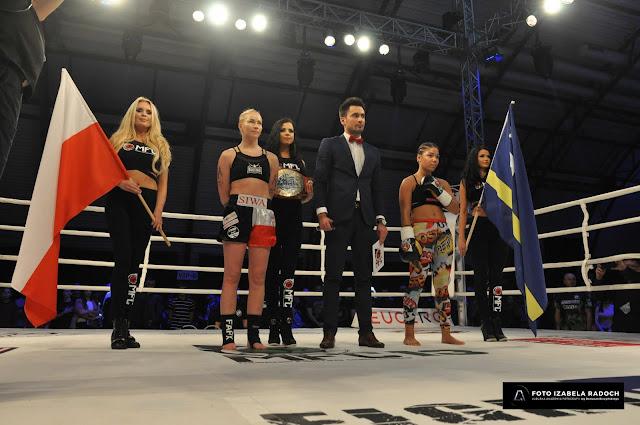 Emilia Czerwińska, MFC 13, Zielona Góa, sport, K-1, trening, zwycięstwo, Pas Mistrzowski, NR 1