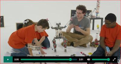 https://www.kickstarter.com/projects/morebot/morebot-a-3d-printed-robot-ecosystem-that-grows-wi