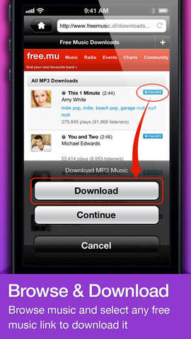 free music downloads for iphones iphone 5 apps 16967