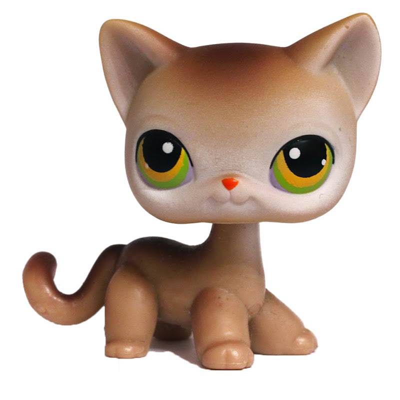 Lps Short Hair Cat With Paw Uo