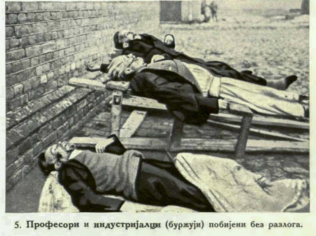"""Professors and merchants (""""Buzuji"""") of high standing murdered without any cause"""