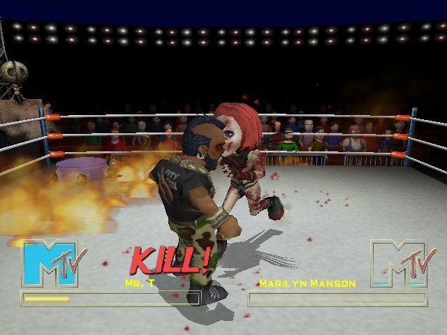 MTV Celebrity Deathmatch Full Version PC GAME Screenshot 2