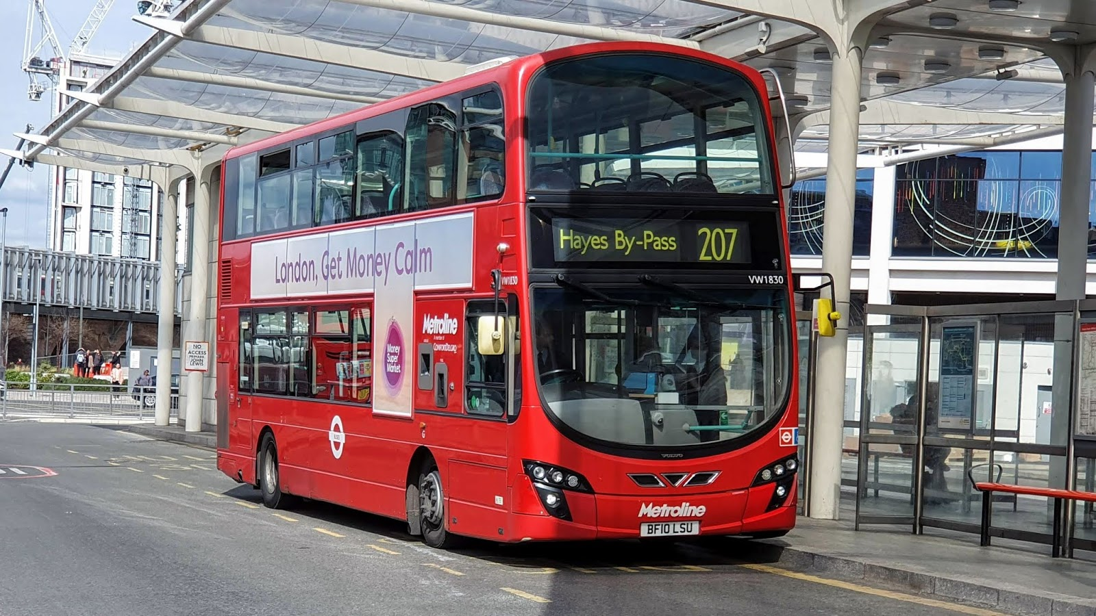 London Connected The By-Pass Of Metroline-9915