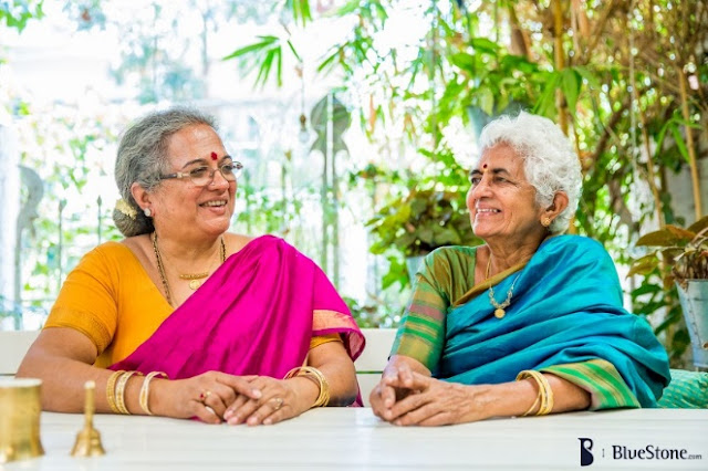 We, the Pizza Grannies– Mrs.SarasaVasudevan and Mrs Padma Srinivasan
