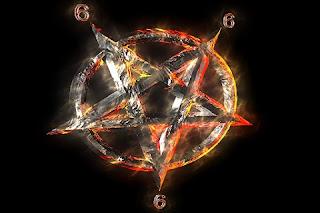 Pentagrama inversata