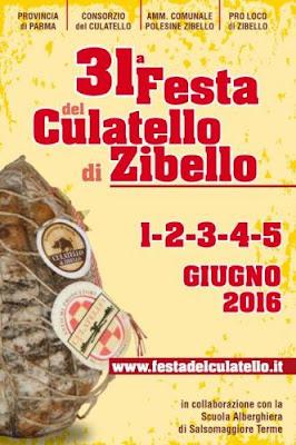 Festa del Culatello di Zibello 1-2-3-4-5 Giugno Zibello (PR) 2016