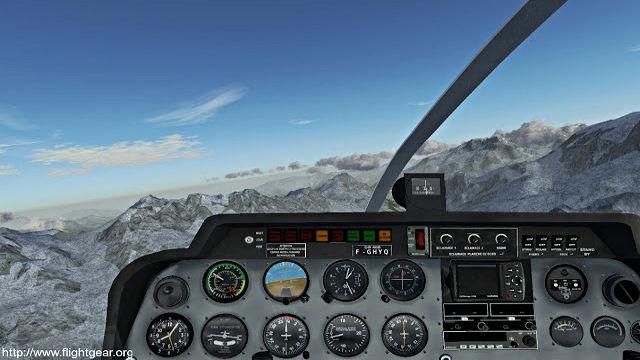 FlightGear - Image du Jeu