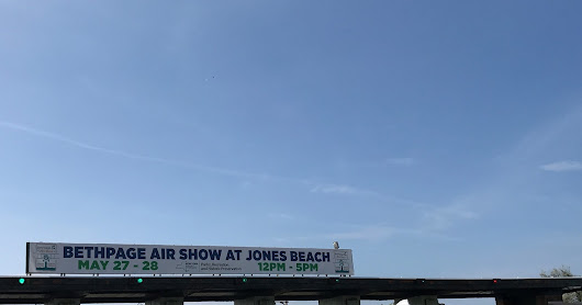 It Is The Bethpage Air Show At Jones Beach!
