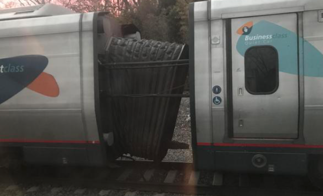 Amtrak Train Breaks Apart At 125 MPH