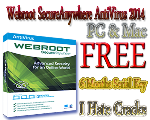 Buy one Webroot SecureAnywhere AntiVirus FREE for 6 months License key, you need to spend $39,99/year. But now you can get it % free by review and tutorial on quicheckdimu.gq Webroot SecureAnywhere Antivirus is an professionally antivirus solution designed to against malwares, viruses, spyware, and other online threats without slowing down.