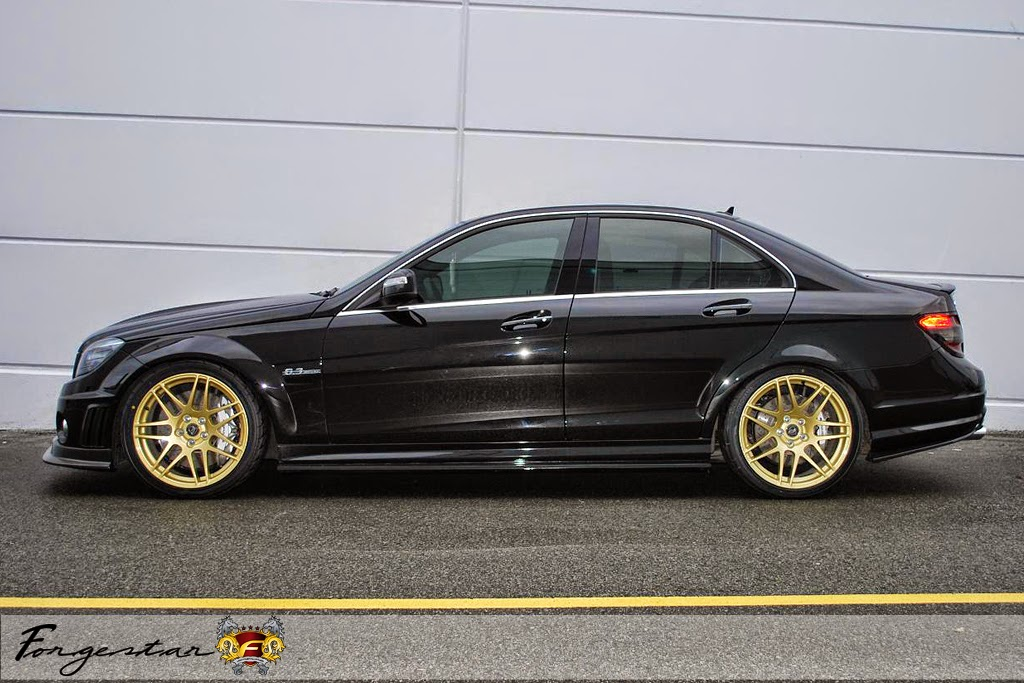 Mercedes Benz C63 Amg On Forgestar Wheels Benztuning