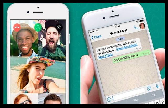 تحديث مكالمات الفيديو الجماعية فى تطبيق الواتساب يصل للمستخدمين الان