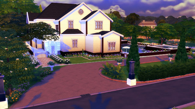 sims 4 house