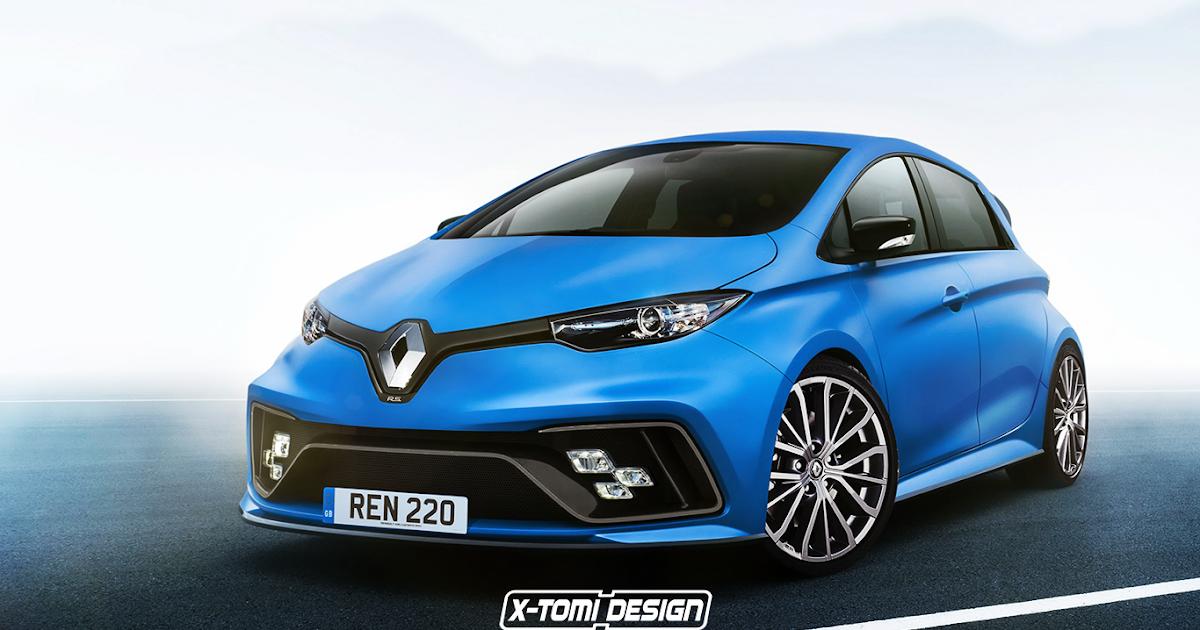 X-Tomi Design: Renault Zoe R.S.