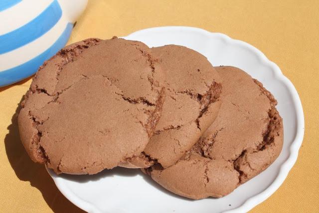 El dulce mundo de Nerea - Cookies de chocolate rellenas de chocolate