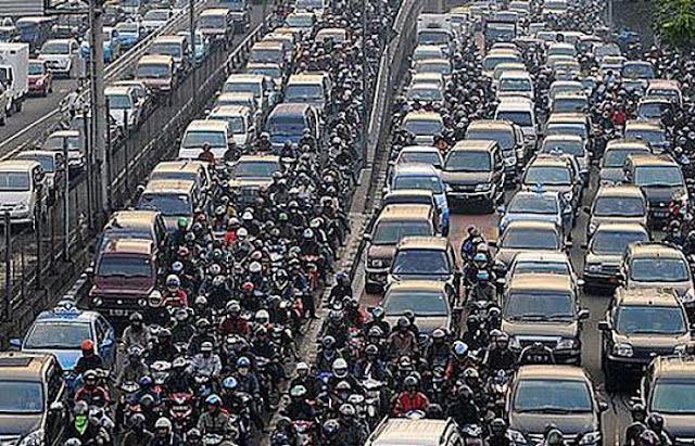 Macet Ibukota Jakarta