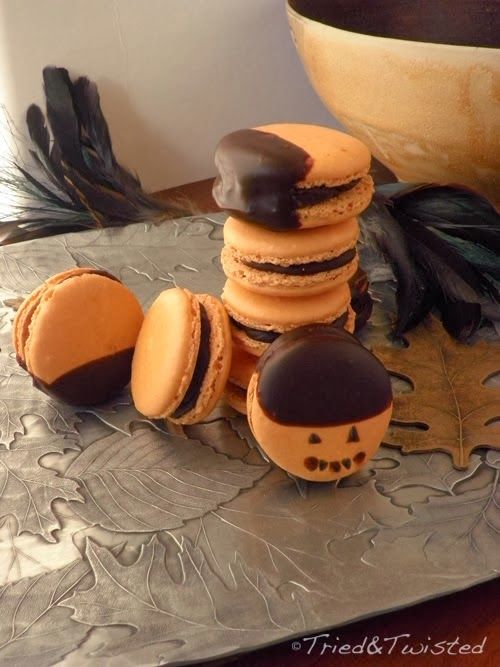http://triedandtwisted.blogspot.com/2013/11/inverted-reeses-peanut-butter-macaron.html