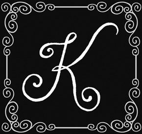 Fancy Letter K Designs More Information