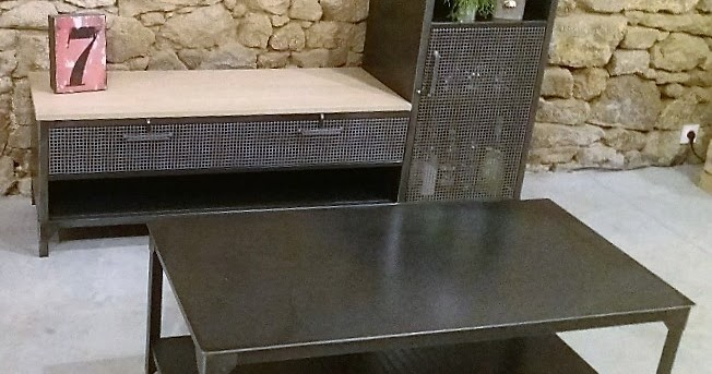 C factory creation meuble tv et table basse - Creation table basse ...