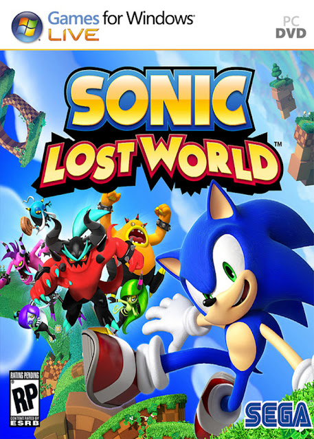 Sonic Lost Word PC - Portada