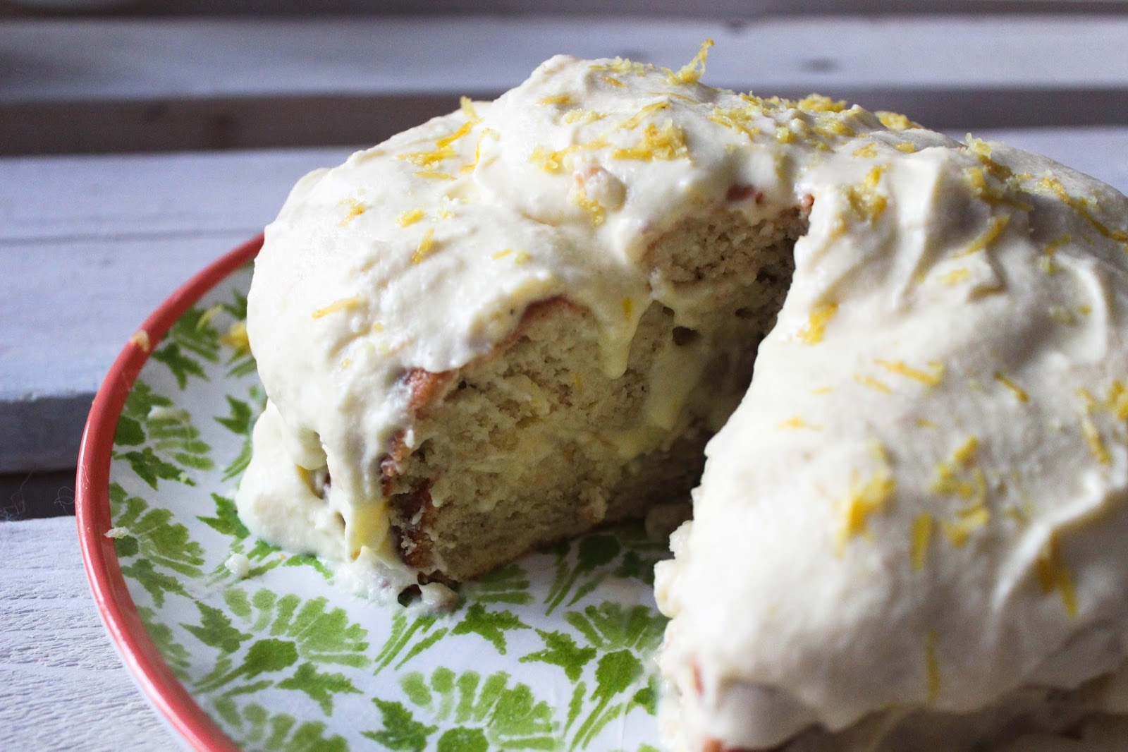 Gluten Free Lemon Cream Cake