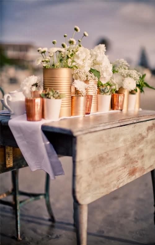arranjos de mesa para casamentos