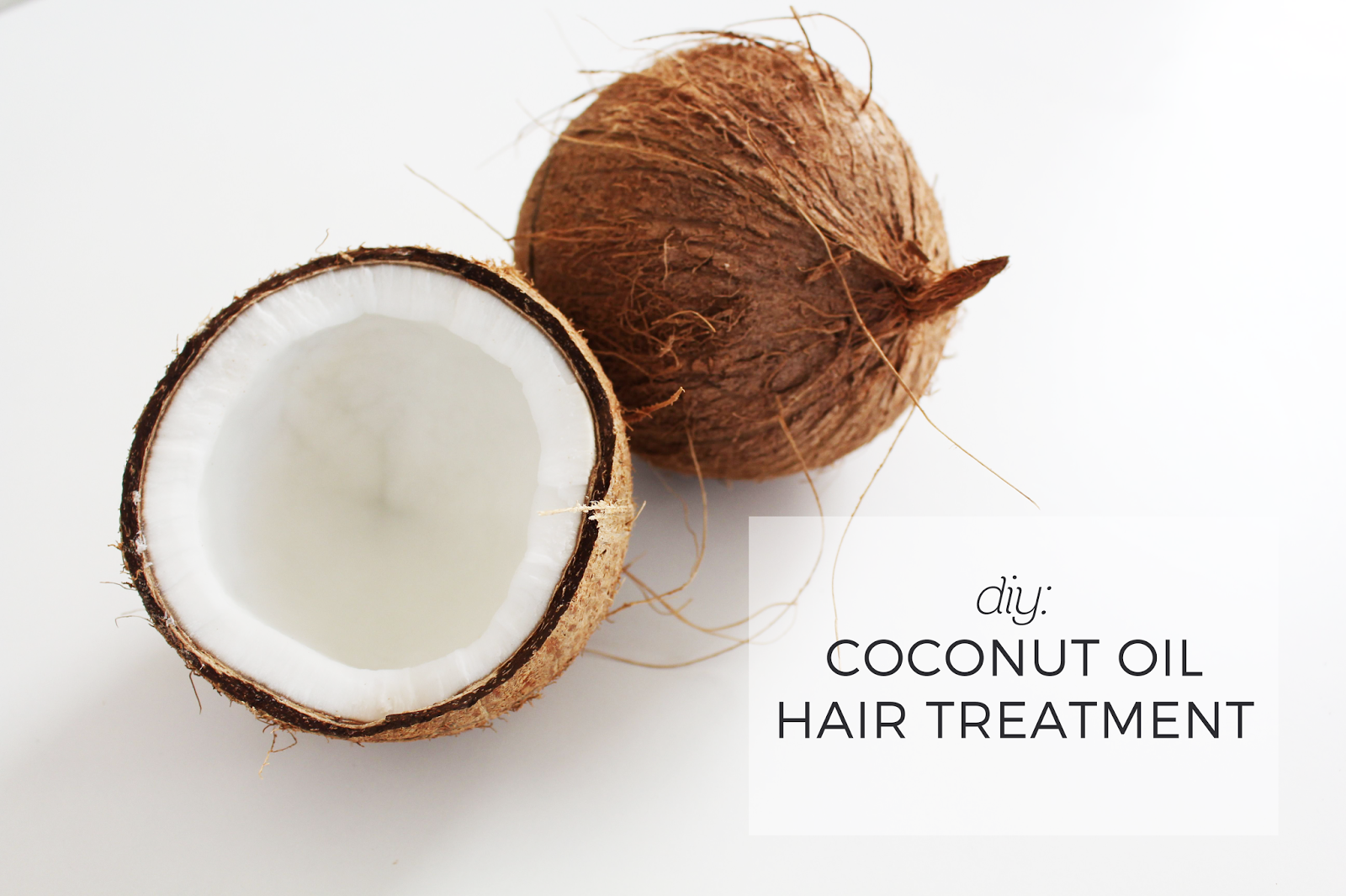 Diy Hair Mask Coconut Oil Dwell In Beauty Diy Coconut Oil Mask For Hair