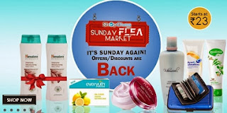 Sunday Flea Market: 3 Pcs Embroided Fancy Suit  for Rs.315 | Head & Shoulders Anti-Dandruff Conditioner for Rs.43 | Spectacle Frames for Rs.379 & more & more