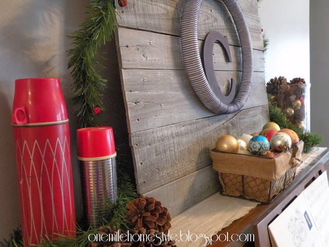 Red and Gold Christmas Decor