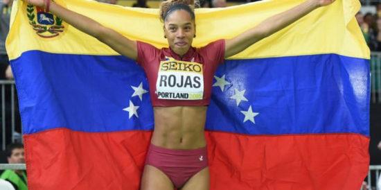 Yulimar Rojas ganadora del Premio a la mejor Atleta de América
