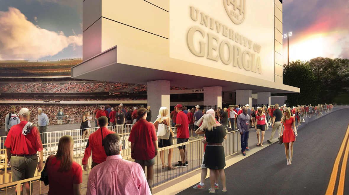 Sanford Stadium Expansion