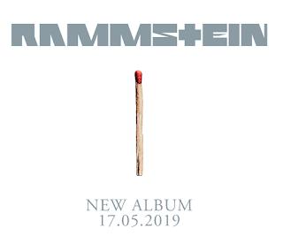 Pochette de l'album sans titre de Rammstein