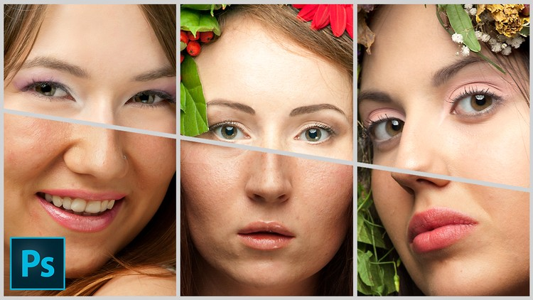 50% off Adobe Photoshop Beauty Retouching for Beginners