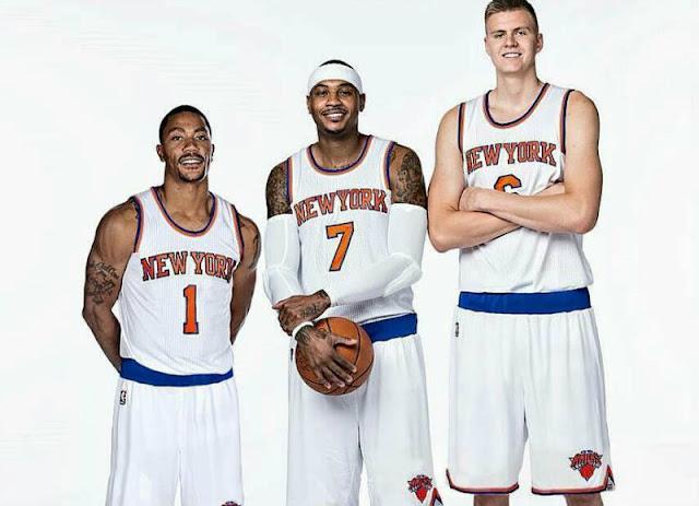 Les 3 stars des Knicks de New Yorh 2016-17