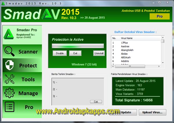Smadav Pro Rev 10.3 Full Free Serial Number Key Terbaru ...