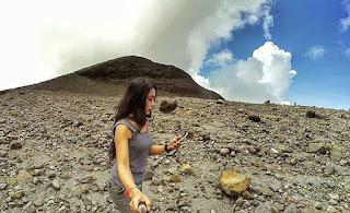 Tifani Maulidza, pendaki seksi dan gemes