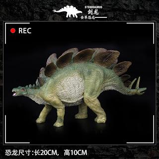 Jurassic World Dinosaur Figure Stegosaurus Toys 20cm
