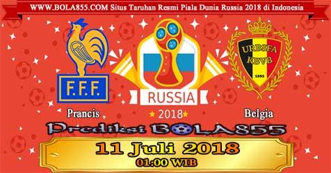 Prediksi Bola855 France vs Belgium 11 Juli 2018