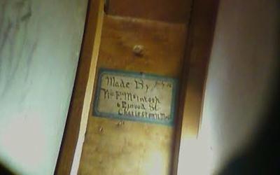 1903 William F. McIntosh Snare Drum Label