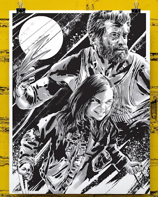 San Diego Comic-Con 2017 Exclusive Logan Marvel Screen Print by Anthony Petrie