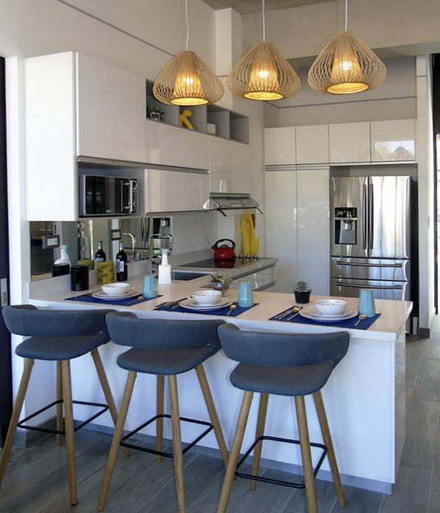 Cocinas con comedor integrado for Cocinas con comedor integrado