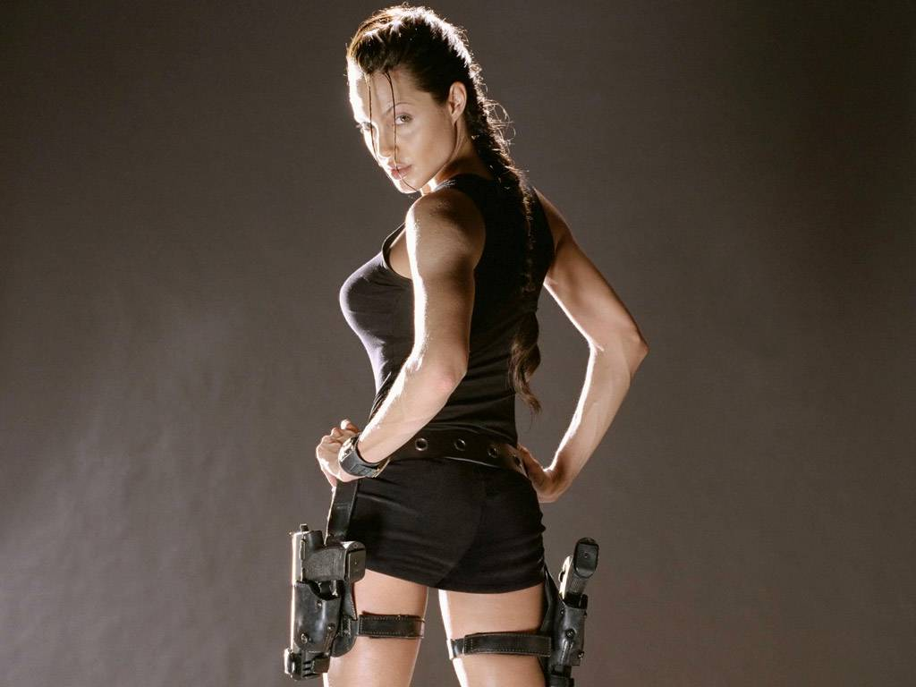 The sexy lara croft has found herself in another sexual adventure 6