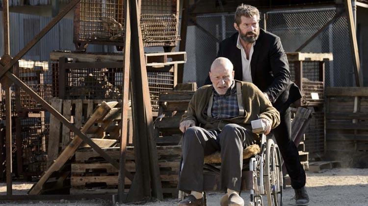 Xavier y Lobezno en Logan