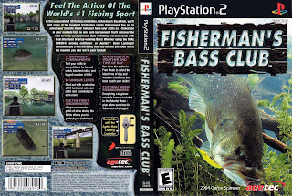 Lin k Fisherman's bass Club PS2 ISO Clubbit
