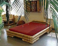 Camas de bambú