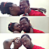 Loved up selfies of Abounce & his fiancee, actress Yvonne Jegede